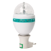 Светодиодная ламап LED FULL COLOR ROTATING LAMP оптом