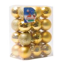 Комплект ёлочных украшений Золотой шар 24 шт.