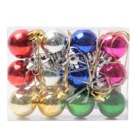 Комплект ёлочных украшений Цветные шары12 шт. оптом