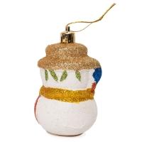 Комплект елочных игрушек Снеговик оптом