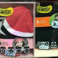Шапка с Bluetooth-гарнитурой и сенсорные перчатки оптом