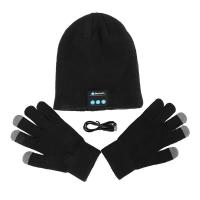 Шапка с Bluetooth-гарнитурой и сенсорные перчатки