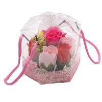 Подарочный набор конфетти для ванны Розовый букет оптом