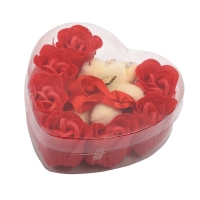 Подарочный набор конфетти для ванны 7 шт. с мягкой игрушкой оптом