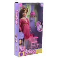 Беременная кукла happy mother с аксессуарами оптом