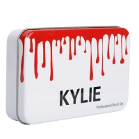 Набор кистей для макияжаKylie 12 шт в футляре оптом