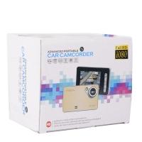Автомобильный видеорегистраторcar camcorderfull hd 1080 гладкий