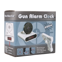 Будильник-пистолет Gun Alarm Clock
