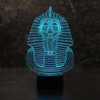 3D светильник Фараон