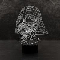 3D светильник Darth Vader