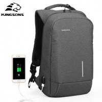 Антивандальный рюкзак Kingsons с USB-зарядкой оптом