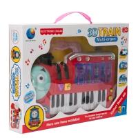 Синтезатор для детей 3D Train оптом