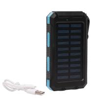 Внешний аккумулятор на солнечных батареях Solar Charger 20000 mah оптом