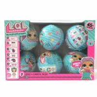 Игрушка-кукла-сюрприз в шарике 6шт