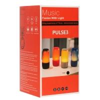 Портативная колонка Pulse 3 с цветомузыкой