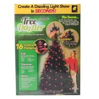 Гирлянда Tree Dazzler 48 ламп на новогоднюю елку оптом