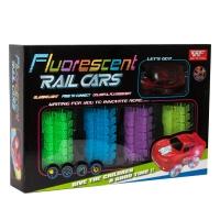 Гибкий трек Fluorescent Rail Cars