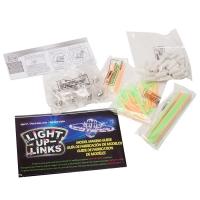 Детский светящийся конструктор Light Up Links 158 деталей оптом