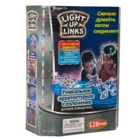 Детский светящийся конструктор Light Up Links 128 деталей оптом