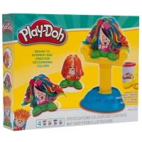 Игровой набор Play Doh Сумасшедшие прически
