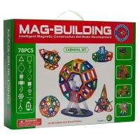 Магнитный конструктор Mag-Building 78 деталей оптом