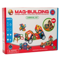 Магнитный конструктор Mag-Building 56 деталей оптом