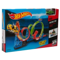 Гоночный трек Hot Wheels Four Loop Action