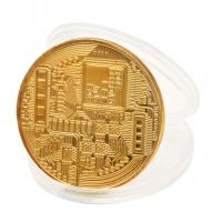 Монета сувенир Биткойн (Bitcoin) оптом