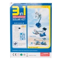 Конструктор на солнечных батареях 3 в 1 Колесница оптом