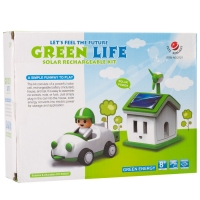 Конструктор на солнечных батареях Green Life оптом
