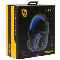 Беспроводные наушники с микрофоном ETTE mx666 Bluetooth оптом