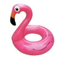 Надувной круг Розовый фламинго 90 оптом
