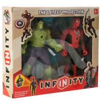 Фигурки супергероев Халк и Человек-паук оптом
