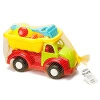 Набор игрушек для песочницы в грузовике оптом