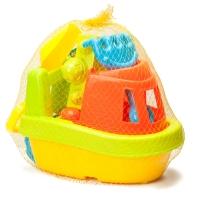 набор игрушек для песочницы в лодке оптом