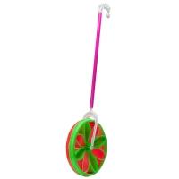 Игрушка-каталка колесо на палочке