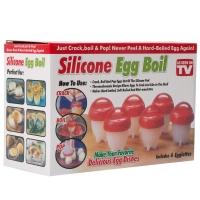 Силиконовая яйцеварка Silicone egg boil оптом