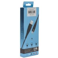USB кабель BOUBLE BENT TYPE-C