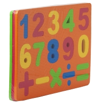Рамка-вкладыш EVA Puzzle Mats Series цифры