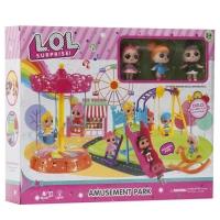 Игровой набор Куклы-сюрпризы и карусели