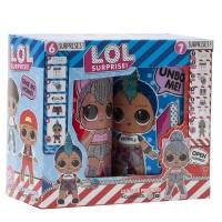 Набор Кукол-сюрпризов BOY и BABY в банках