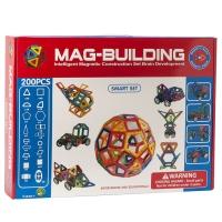 Конструктор магнитный Mag-Building 200 деталей