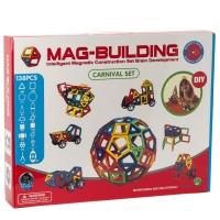 Конструктор магнитный Mag-Building 138 деталей