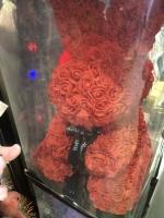 Зайка из роз