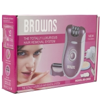 Эпилятор 2в1 Browns BS-2068