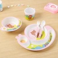 Комплект посуды для детей из 5 предметов Улитка оптом
