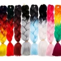 Канекалон цветной Jumbo Braid оптом