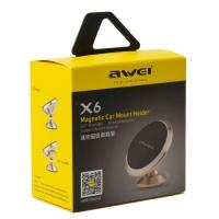 Держатель для телефона Awei Magnet X6 оптом