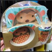 Набор детской бамбуковой ЭКО посуды оптом