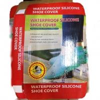 Многоразовые бахилы от дождя Waterproof silicone shoe cover оптом